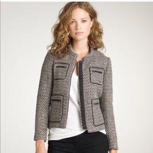 J. Crew Gilded tweed blazer jacket - size 6